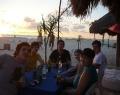Essen im Strand