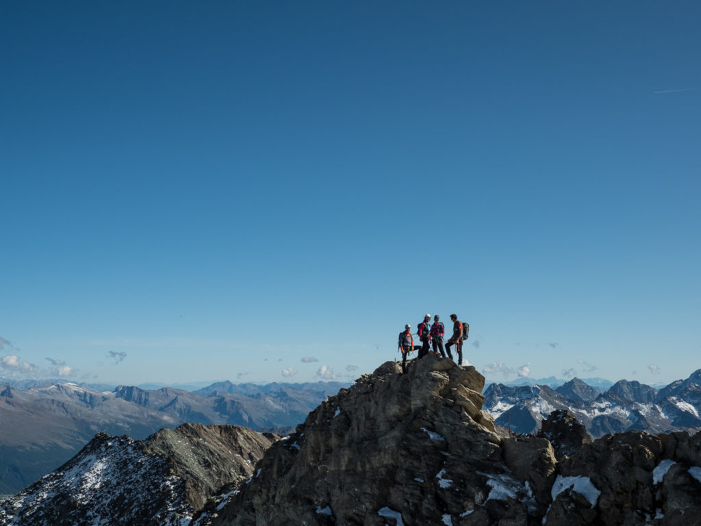 Großglockner mit Gerlinde Kaltenbrunner & Bergwelten. Foto: Simon Schöpf