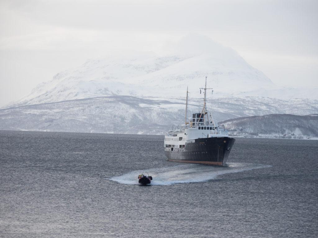 Arctic Haute Route, Norwegen: Skitouren nördlich des Polarkreises. Foto: Simon Schöpf