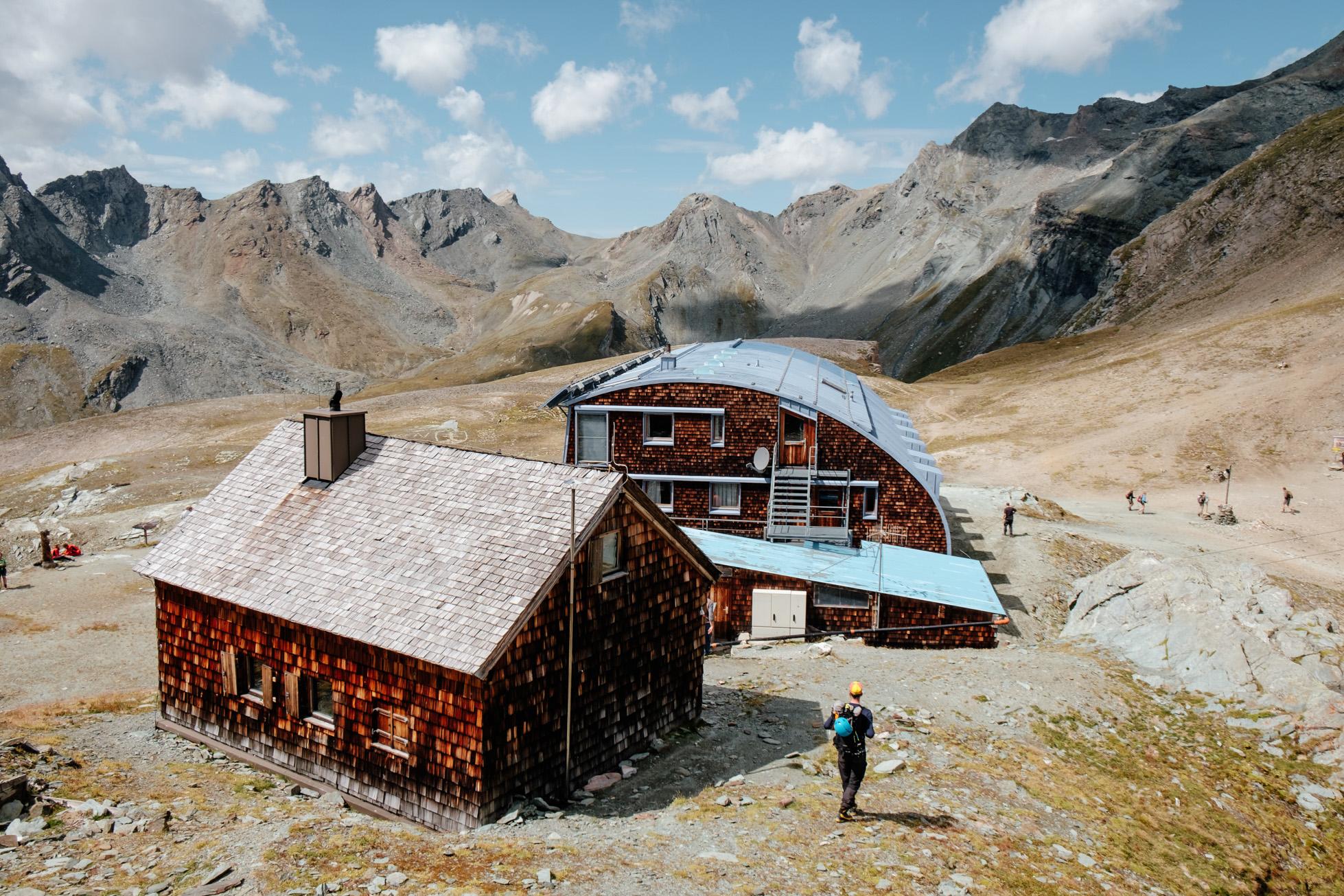 Stüdlhütte anno jetzt. Foto: Simon Schöpf